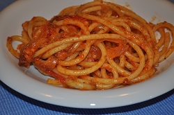 The red amatriciana