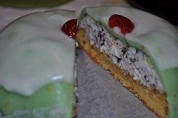 The housewife cassatella: a variation on the theme Sicilian cassata!