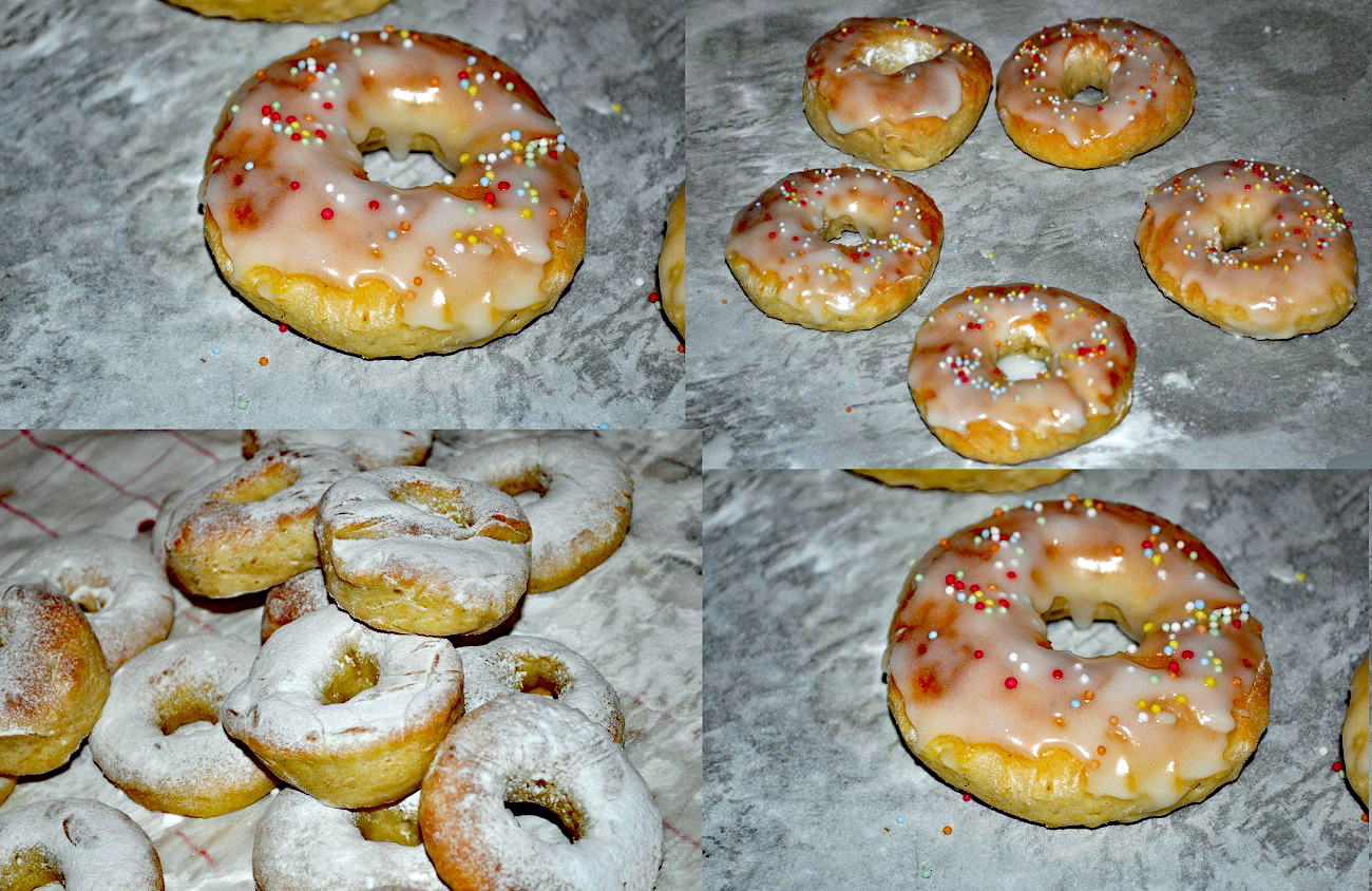Donuts, baked donuts