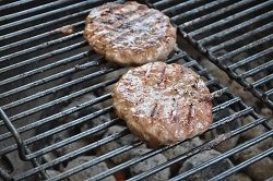 Classic burgers on the grill!