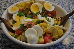 Potato salad in the basic version!