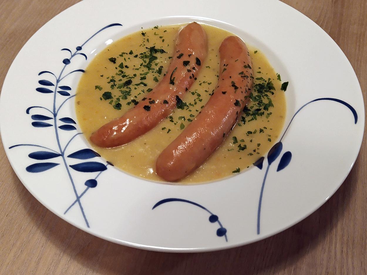 Potato soup, Kartoffelnsuppe