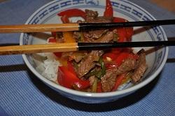 ginger spicy beef