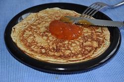 Pancake quickly