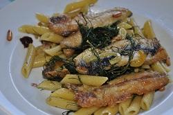 Pasta with sardines, to Palermo