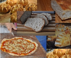 Pizzas, focaccias, breads and more ...