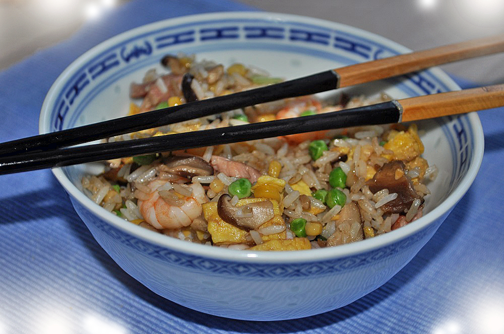 The Cantonese rice