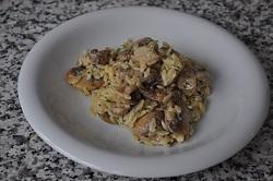 Sautéed of paddies and mushrooms