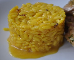risotto yellow to Milanese S