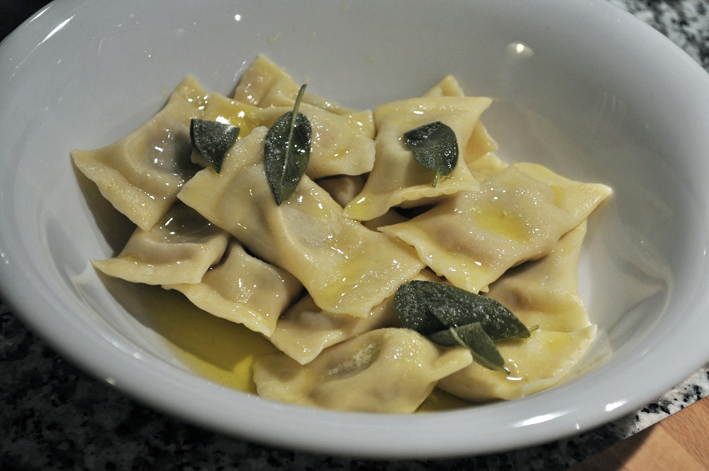 The pumpkin tortelli