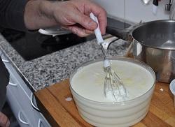 Joghurt durchgesickert dem griechischen