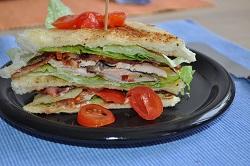 Das Weihnachtsclub-Sandwich!