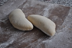 Here is the pita bread!